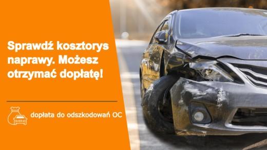 PorownajSzkode - Sprawdź kosztorys naprawy samochodu. Możesz otrzymać dopłatę!
